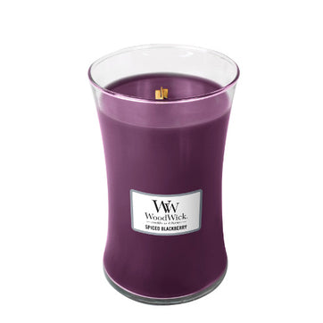 Woodwick Spiced Blackberry Candle