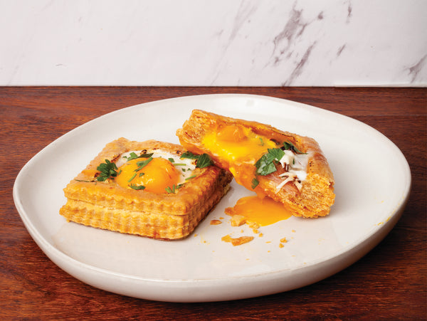 GeeFree Foods | Try making this mouth watering Egg in Croute Recipe.