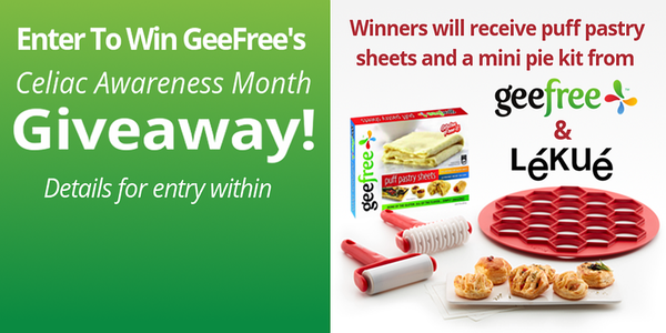 Enter to Win GeeFree's Celiac Awareness Month Giveaway!