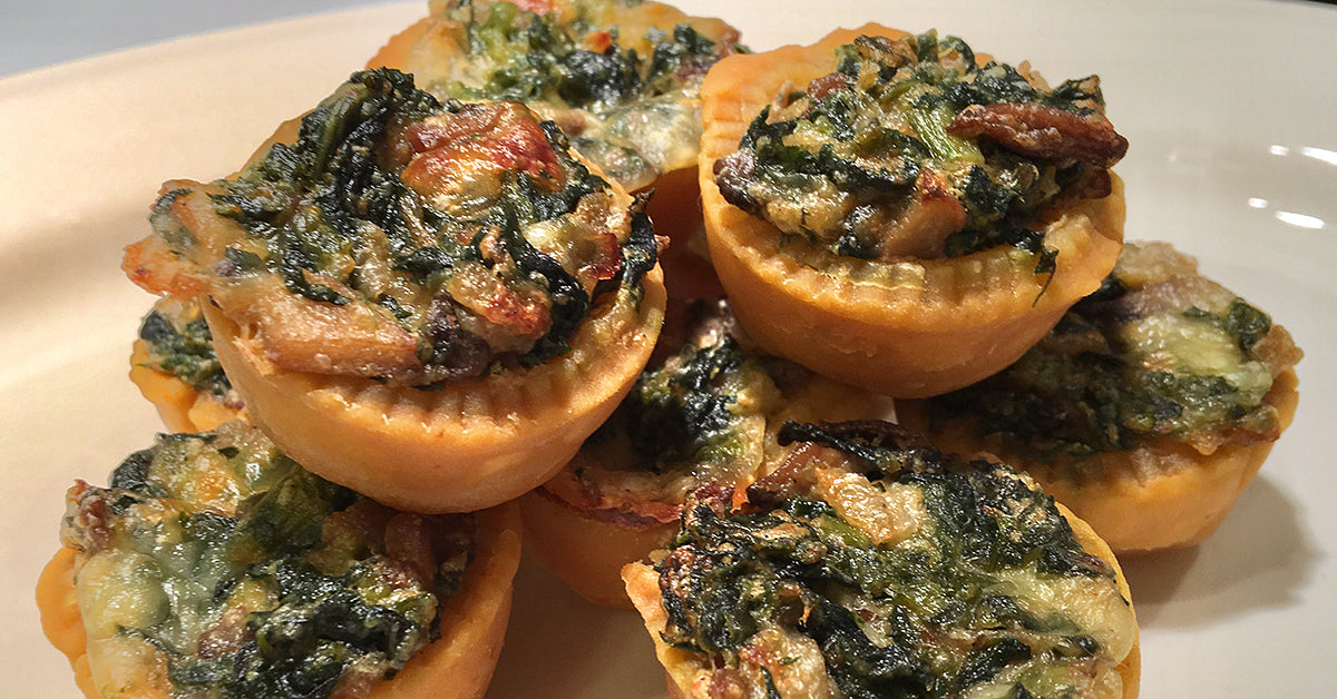 savory puff pastry holiday appetizers