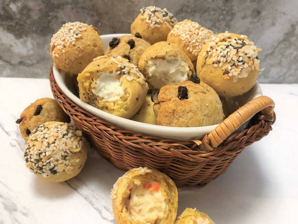 Gluten-free Everything Bagel Puffs
