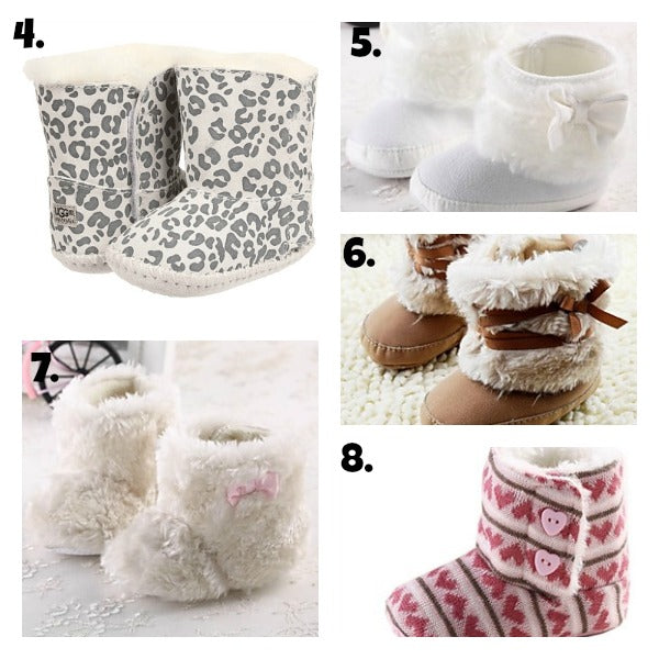 Cozy Booties with text Collage