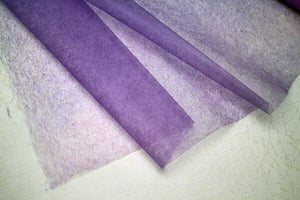 Tengu Paper Colored Extra thin Gradation Purple 1817