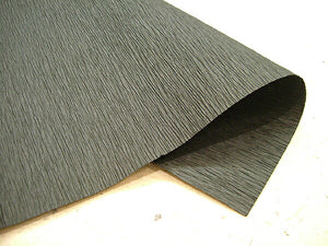 Crepe (wrincled) Paper Black