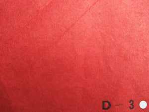 Ecchu Colored Paper D-3 Dark red