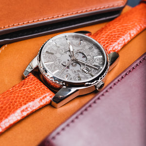 Damascus watch SAMURAI -Orange-