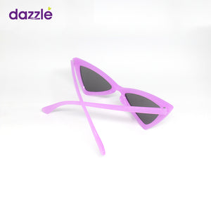 Big Kids & Teens Trendy Fashion Cat Eye Sunglasses - Purple