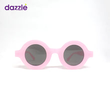 Load image into Gallery viewer, Kids & Teens Trendy Fashion Round Sunglasses - Pink