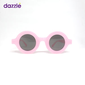 Kids & Teens Trendy Fashion Round Sunglasses - Pink