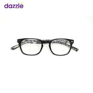 Unisex Monochrome Stock Frame Glasses