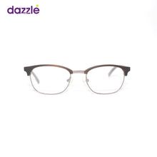 Load image into Gallery viewer, Brown Rectangle Kids Eyeglasses Unisex - Eyewears
