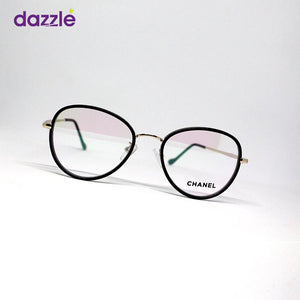Clear Fashion Glasses - Black - Opticals