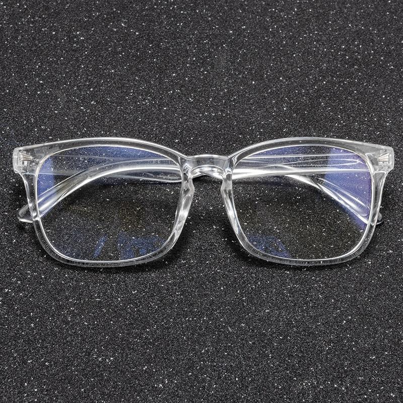 Crystal Clear Unisex Anti Blue-Light Computer Glasses for