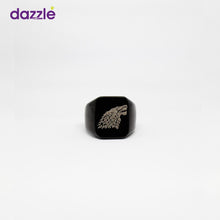 Load image into Gallery viewer, Game of Thrones inspired House Stark Men's Fashion Ring