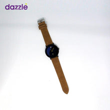Load image into Gallery viewer, Keep Moving Men's Leather Watch - Brown and Black - Merch