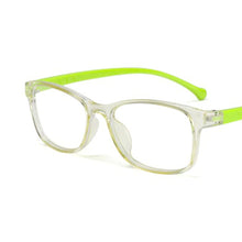 Load image into Gallery viewer, Kids Colorful Silicon Anti-Blue Light UV Glasses - Green