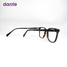 Load image into Gallery viewer, Male & Female Acetate Tortoise Print Square Eyeglasses -