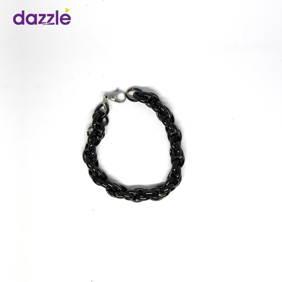 Men's Chain Bracelect - Black - Merch