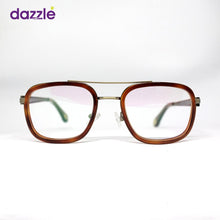 Load image into Gallery viewer, Men's Classic Vintage Wooden Metal & Acetate Stock Frame