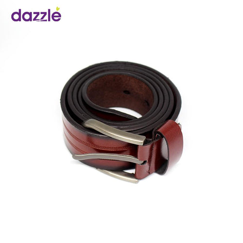 Men's Leather Belt - Color As Shown - Merch