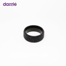 Load image into Gallery viewer, Men's Round Fashion Ring - Black - 12 - Merch