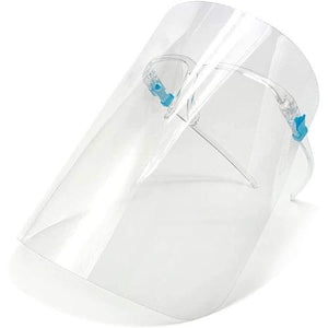 Reusable Protective Plastic Face Shield With Glasses -