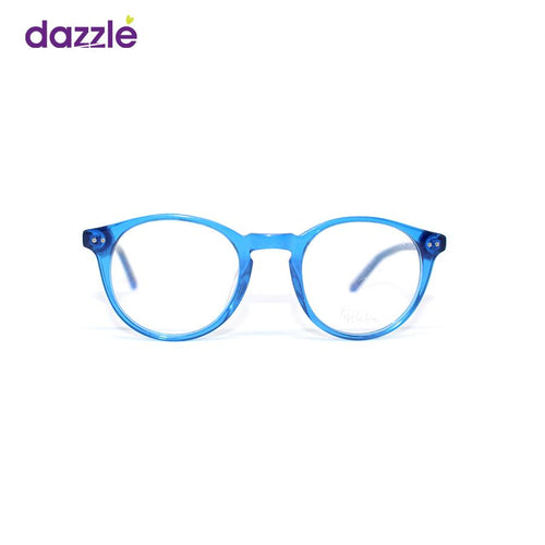 Round Kids Glasses for Boys and Girls - Blue - Eyewears