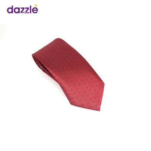 Stunning Wine Colored Necktie for Men - Merch