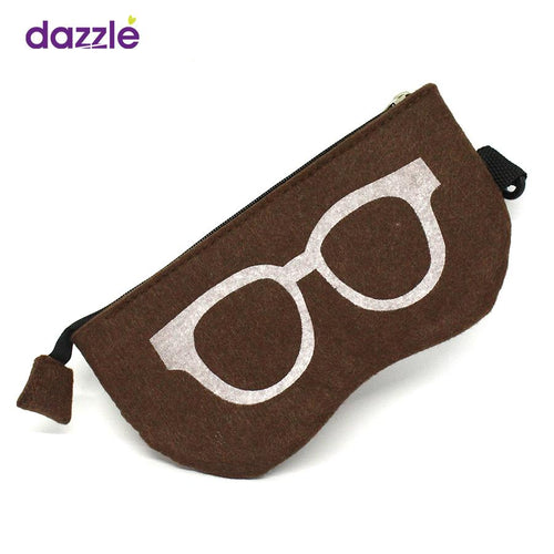 Sunglasses & Frames Pouch - Brown - Eyewear Accessories