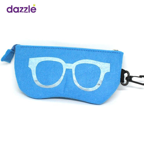 Sunglasses & Frames Pouch - Turquoise Blue - Eyewear