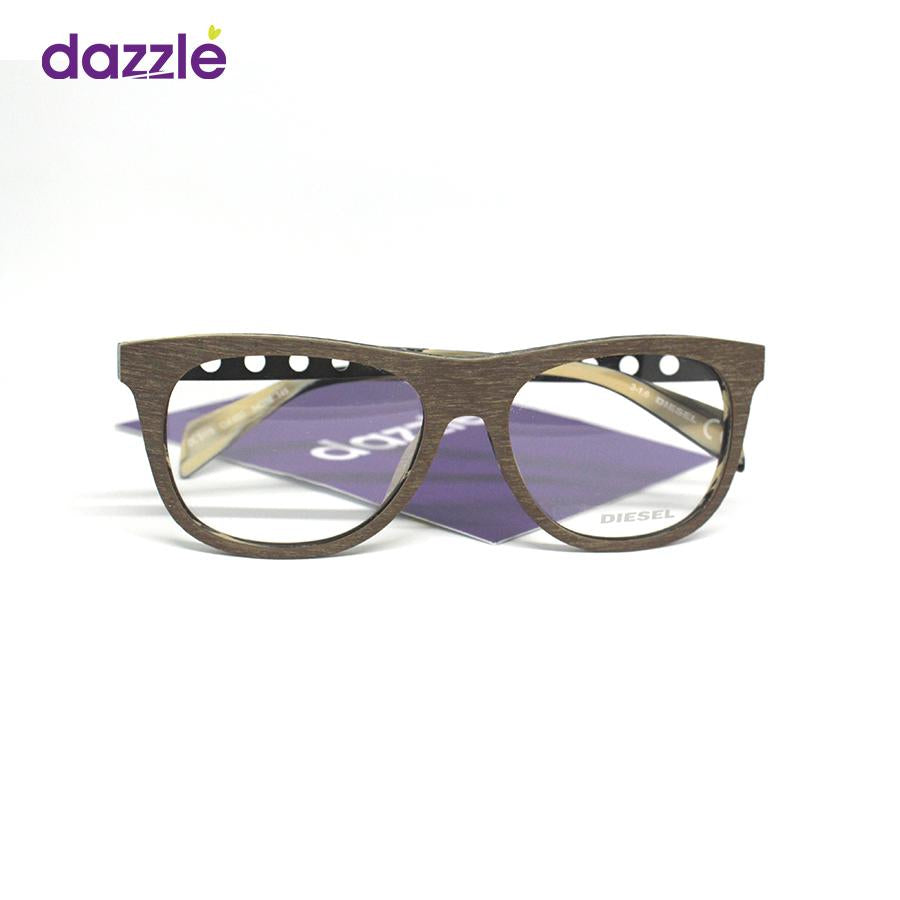 Unisex Classic Wooden Stock Frame Glasses - Opticals