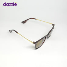 Load image into Gallery viewer, Unisex Fashion Sunglasses - Brown and Gold - Sunglasses