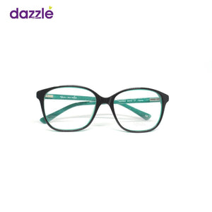 Unisex Green and Black Stock Frame Glasses - Opticals