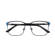 Load image into Gallery viewer, Unisex Metal Stock Frame Glasses Modern Design - Blue