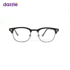 Unisex Stock Frame Glasses - Black - Opticals