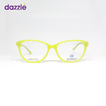 Load image into Gallery viewer, Women's Lemon Yellow Cat Eye Acetate Stock Eyeglasses -