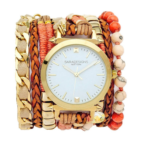 URBAN LITTLE CORAL WRAP WATCH