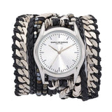 Black Maasai Wrap Watch Collection Sara Designs