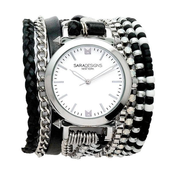 Carmen Black Watch Sara Designs