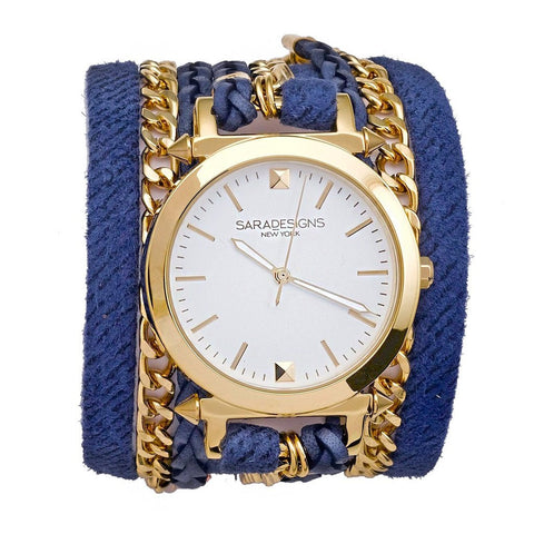URBAN SPIKE WHITE WRAP WATCH
