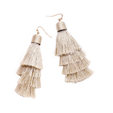 GABI TASSEL FRINGE EARRINGS