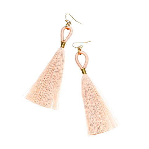 ELIE DRO EARRINGS- WHITE