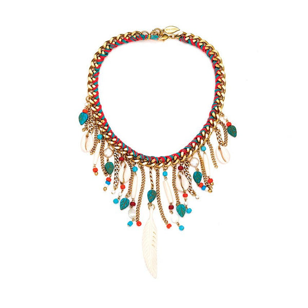 Fringe Benefits Necklace Sara Designs