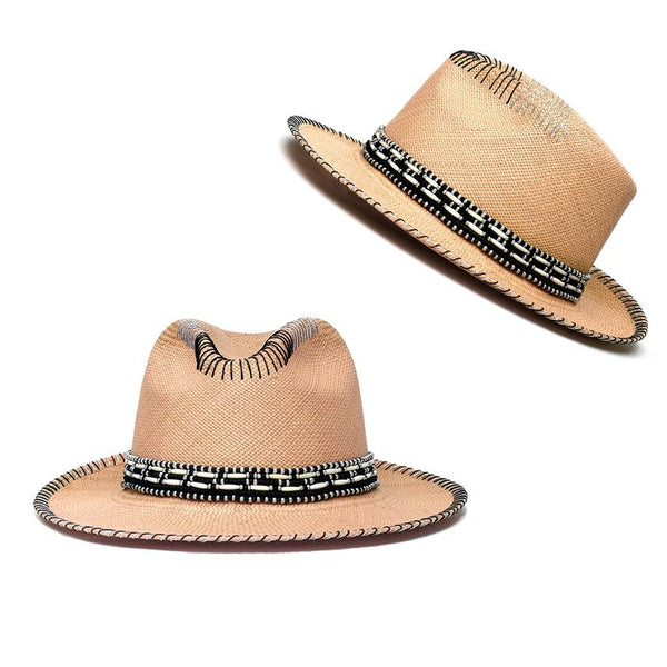Hermosa Natural Fedora Hat Panama Hat Collection