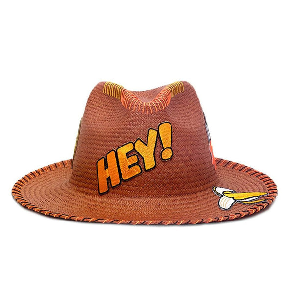 Hey! Patch Sahara Fedora Hat Sara Designs