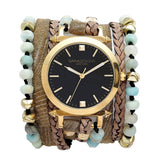 Jade Wrap Watch Sara Designs