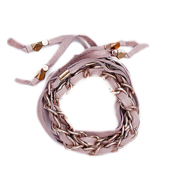 Lidia Choker Blush Rose Gold Collection Sara Designs