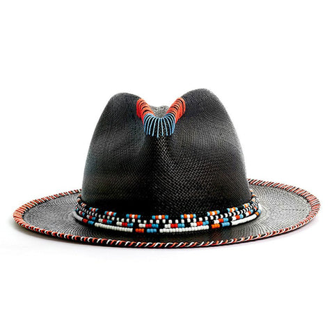 MAUI BROWN FEDORA PANAMA HAT
