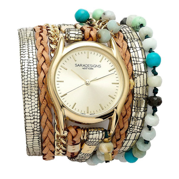 Ocean Breez Wrap Watch Sara Designs