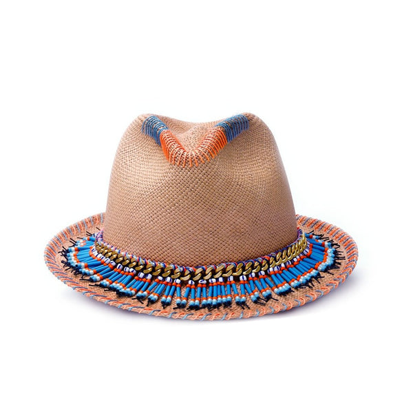 Olli Natural Diamond Panama Hat Sara Designs